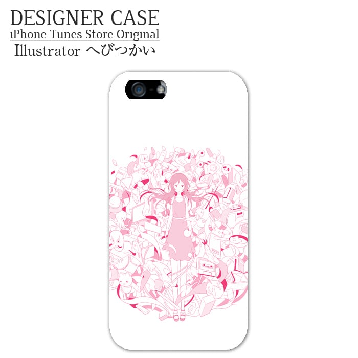 iPhone6 Plus Hard Case[yuuwaku]  Illustrator:hebitsukai
