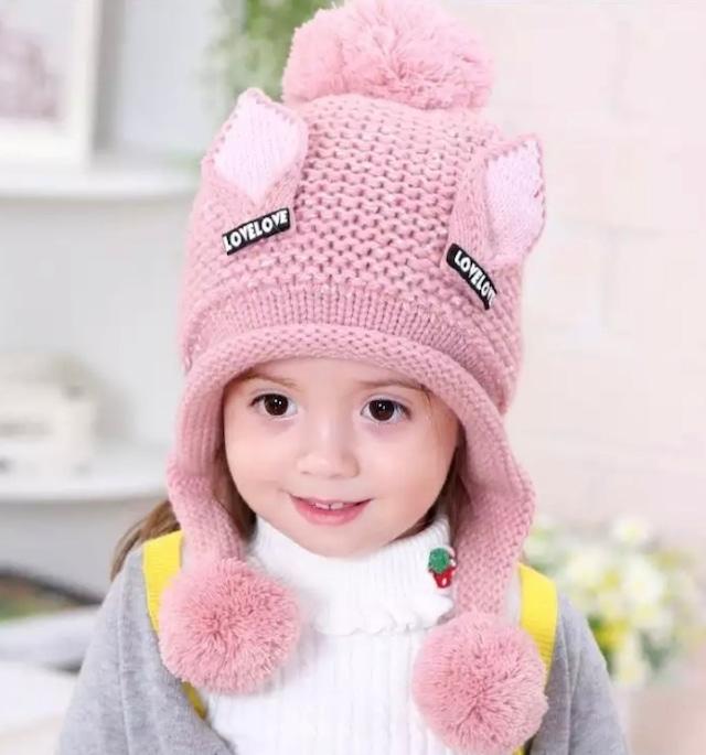 うさ耳 love ニット帽