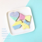 〈SIDE MENU〉メッセージプレートクッキー