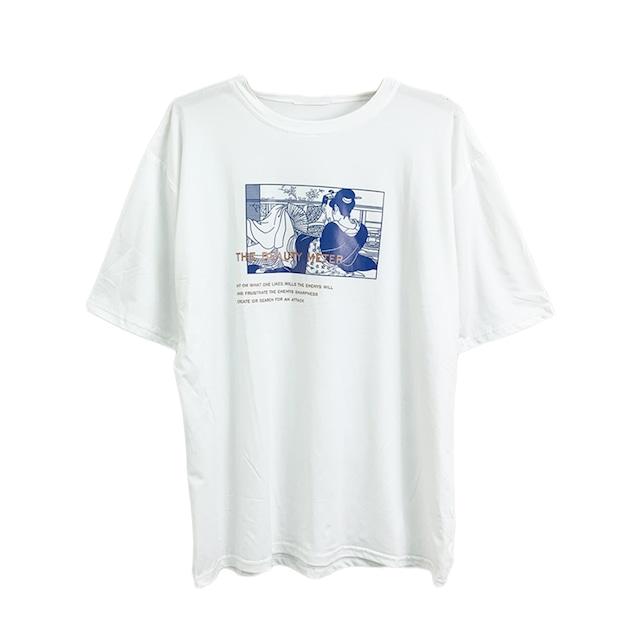 浮世絵Tシャツ | ロゴT グラフィック デザイン プリントシャツ 【順次発送商品】