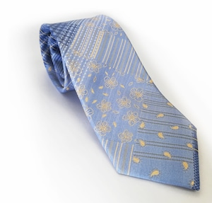 フローラルパッチワークネクタイ fresh floral patchwork tie -0033