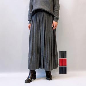 Bluene(ブルーネ) Accordion Pleats Knit Skirt 2021秋冬新作 [送料無料]