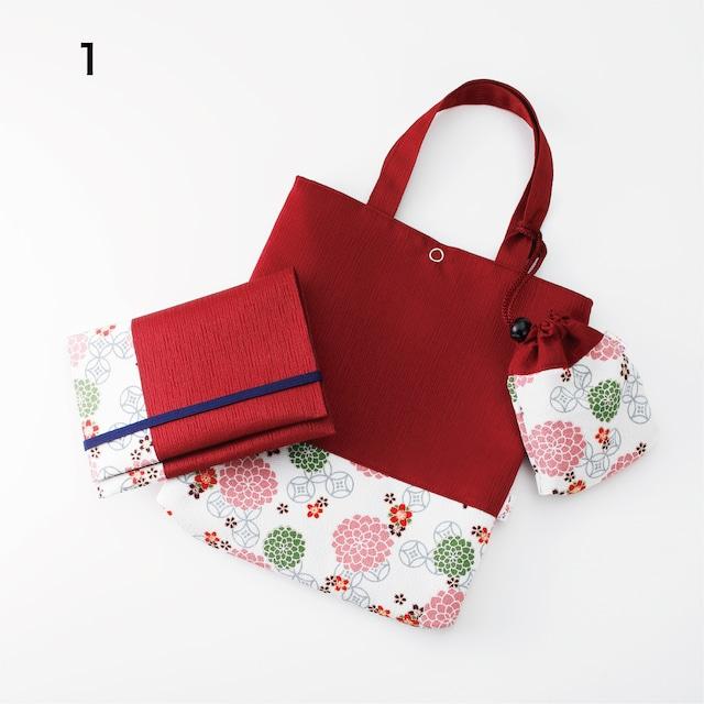 トートバックとお薬手帳入れのセット Tote bag with multipocket jourmal cover