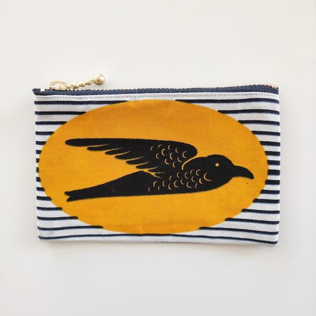 アフリカンファブリック ミニミニポーチ  Swallow オーダー