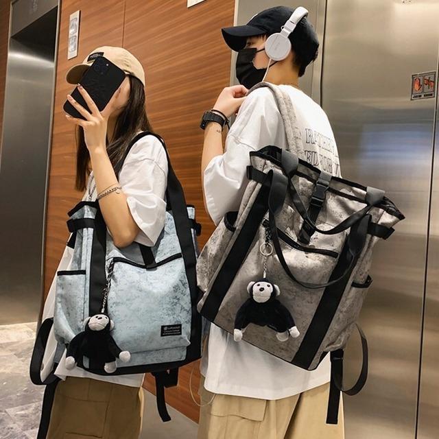 【小物】カジュアル通勤通学ファッションストリート系スポーツリュック