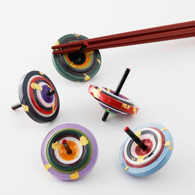 えんぎ独楽箸置き  koma chopstick rest (5pieces)