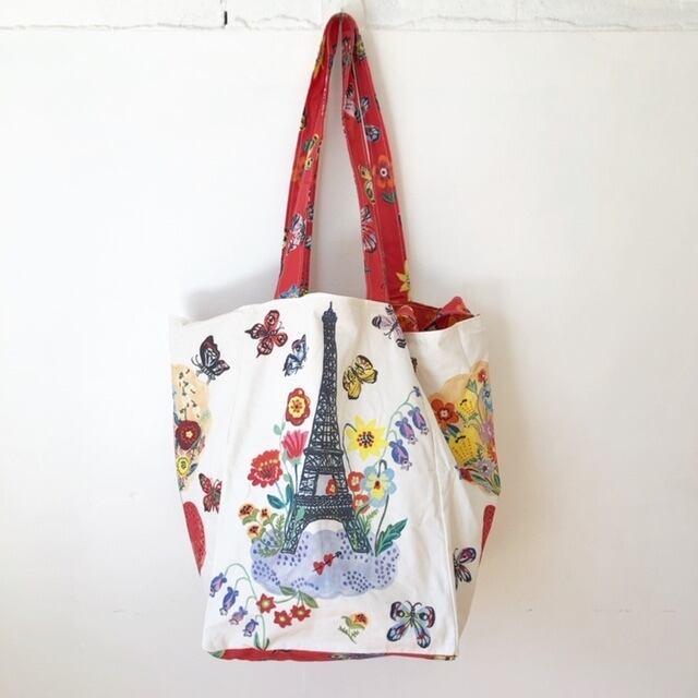 "Nathalie Lete "" Eiffel Tower Market Bag"" ナタリーレテ エッフェル塔 マーケットバッグ"