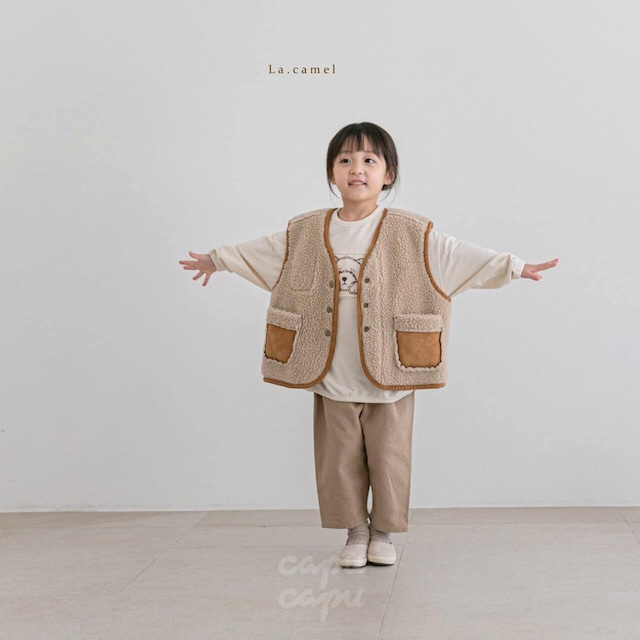 «sold out» La camel classic pants 2color クラシックパンツ