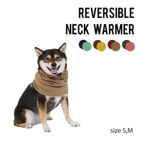 REVERSIBLE NECK WARMER(S,M) リバーシブルネックウォーマー