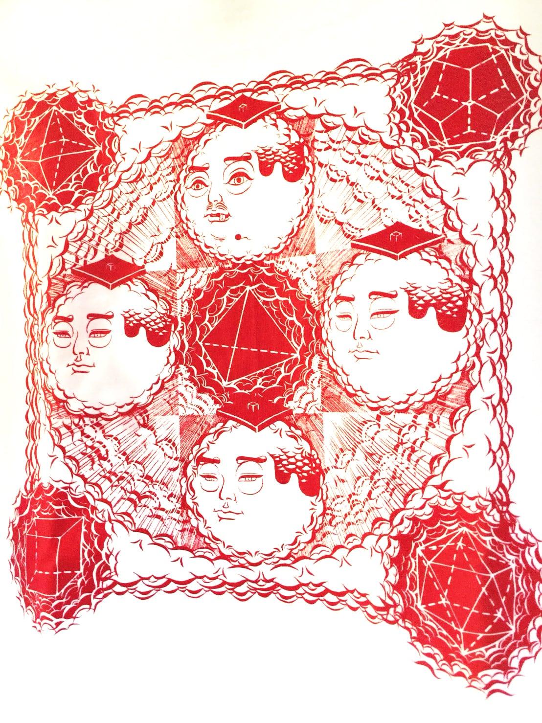 """BLACKDALLAS """"プラトン曼荼羅"""" LONG T Artwork by ESSU"""