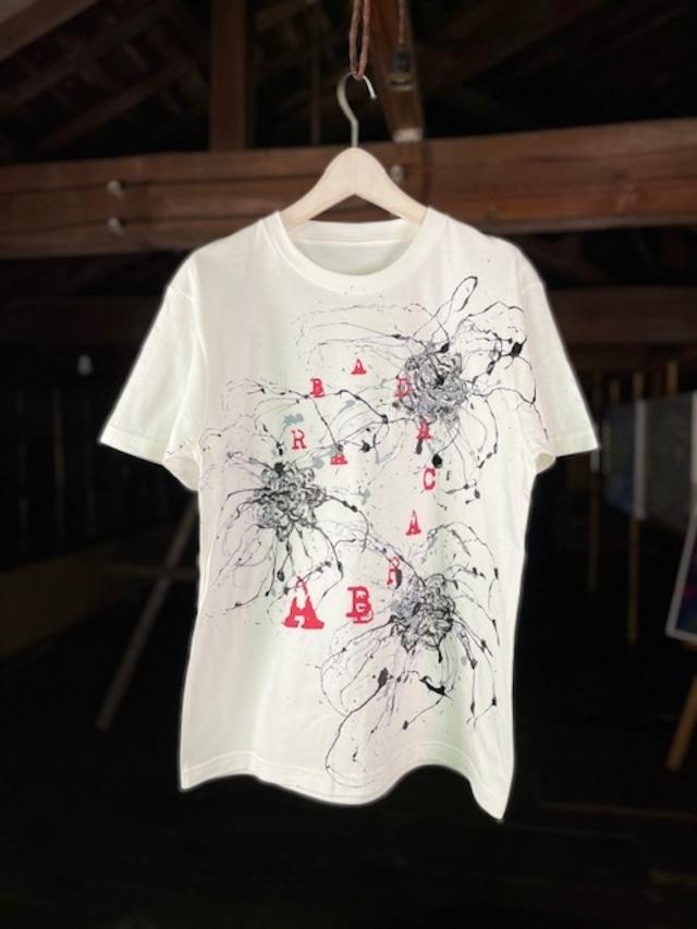 (Re:II)feat.BUCK-TICK   Tシャツ SHIBUKI ART TYPE:ABRACADABRA -White-