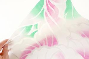 灯りの紙 −牡丹/美濃判−