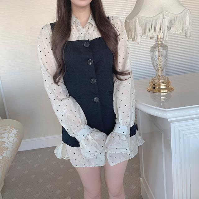❤︎ rétro shirt dress set