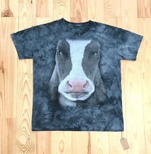 COW BIG FACE Printed T-shirts