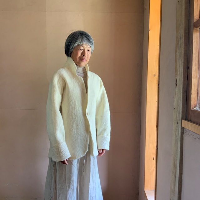 JAS2-21001 ショートジャケット 白