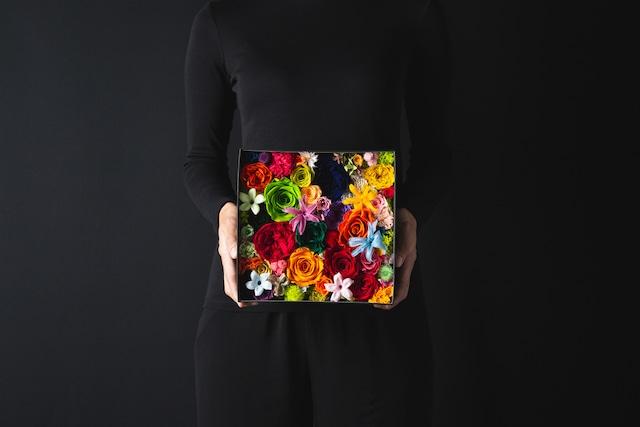 Preserved Flower Box Special Ver. M(トロピカル/ブラック)