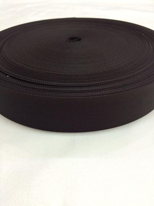 ナイロンテープ 高密度織 38mm幅 1mm厚 カラー(黒以外) 5m