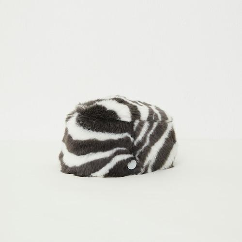 《eLfinFolk 2021AW》Zebra fur toque HAT  by CA4LA / zebra / 52・54cm