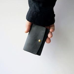 mini wallet - bk - nebbia