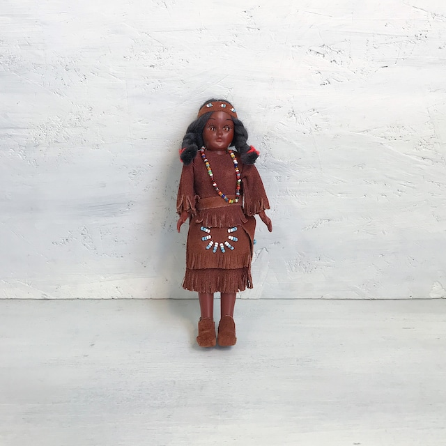 【B-78】スリープアイ カールソンドールインディアン