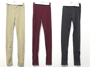 GRIS 20AW Leggings M/Lサイズ ( beige/charcoal)[GR20AW-CU005A]1点までメール便可