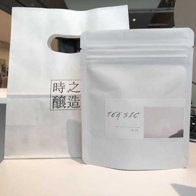 【5pc入り】味わいの音楽付き日本茶 TEA'SIC B-01