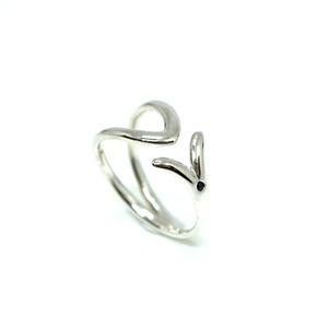 Fish symbol ring - SV