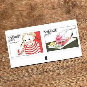 シール切手(未使用)「食の豊かさ - 2種セット(2010年発行)」