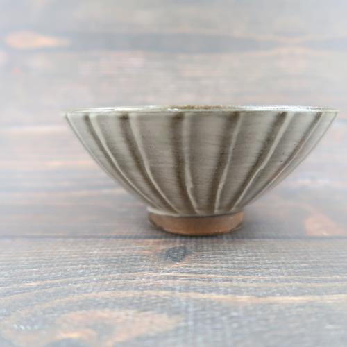小石原焼 飯椀 刷毛目お茶碗 上鶴窯
