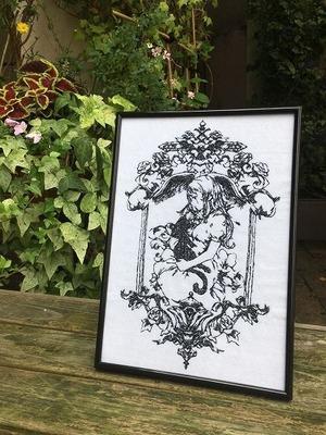 魔女の家 エレンの日記 額装刺繍 公式商品