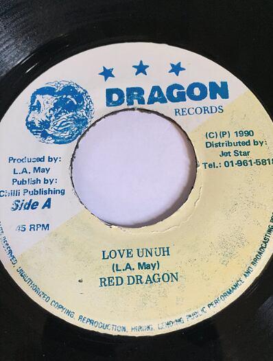 Red Dragon(レッドドラゴン) - Love Oonuh 【7'】