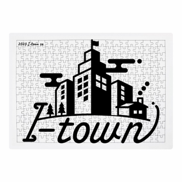 I-town ロゴ ジグソーパズル(大)300ピース 41.9×29.8(cm) #Stay home