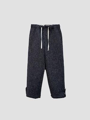 KHOKI H pants Black 21aw-p-01