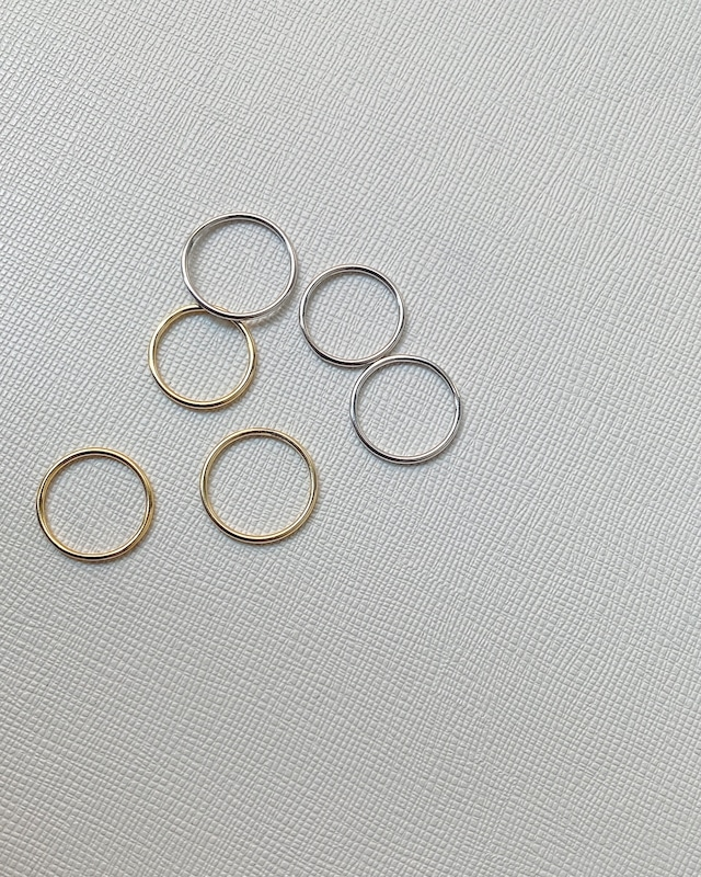 simple ring 2colour