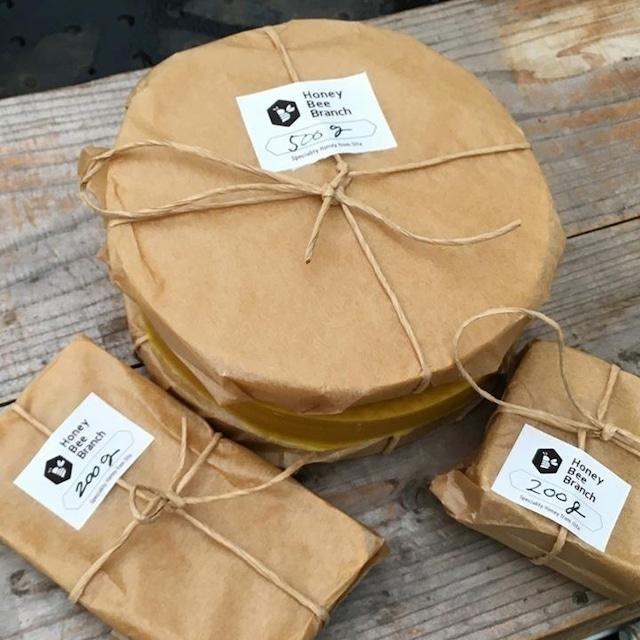 養蜂園厳選 天然ミツロウブロック 1kg