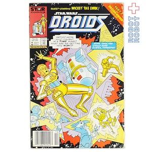 スター・ウォーズ ビンテージ アメコミ DROIDS #4 LOST IN TIME 1986