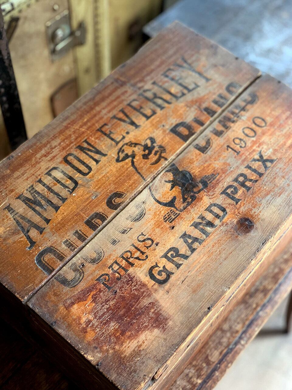 AMIDON E.VERLEYの木箱 アミドン
