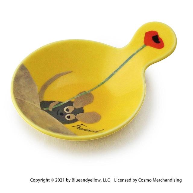 レオ・レオニ プチトレー 取っ手付 小皿 約9×7cm フレデリック 美濃焼 278206
