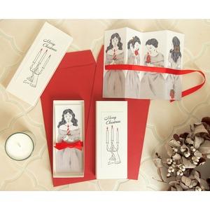 クリスマスカードボックス 聖なる祈りの小箱