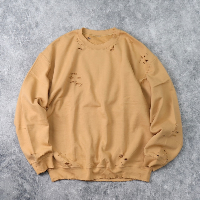 """ BORO ""   Sweat  Shirt   MUSTARD B84"