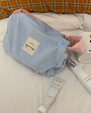 pastel corduroy handbag