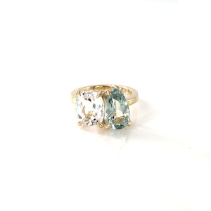 Muse 2 Stones Ring