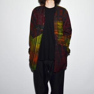 "Crazy Pattern ""NIPPON SILK"" Shirt Coat 〈K〉"