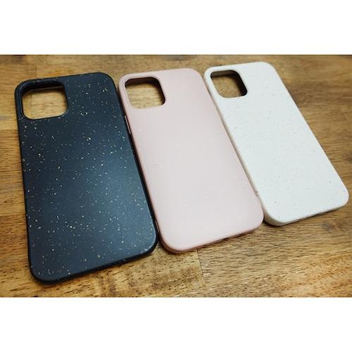 大地にもどるエコスマホケース 【iPhone 12 mini /12・12Pro /12 Pro Max 対応】リサイクル小麦素材 アースカラー エコ