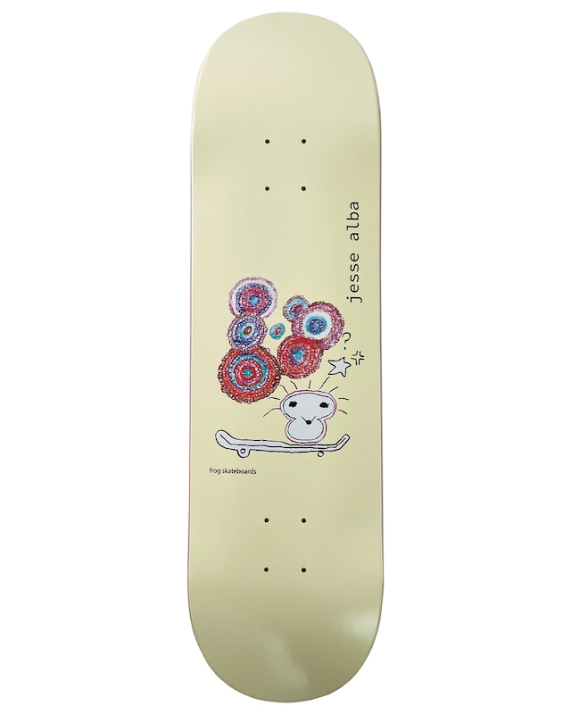 Frog skateboards Jess Alba Deck 8.6