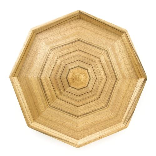 レオ 八角形のトレー 0032