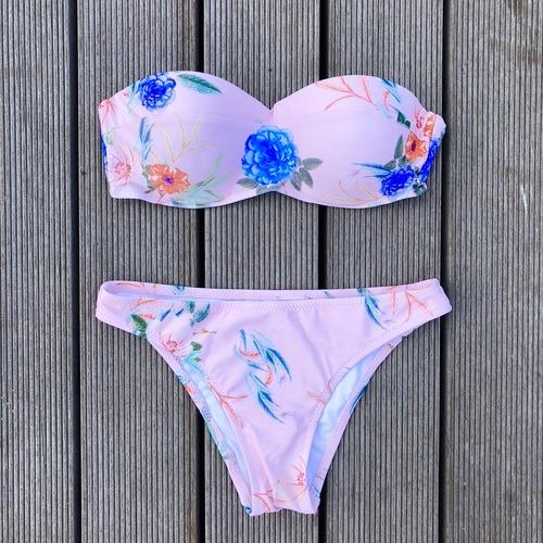 Bikini♡ピンクフラワーバンドゥビキニ GSB18S051PNK