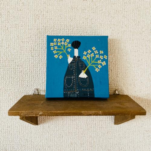 NO.506「僕と花<菜の花>」