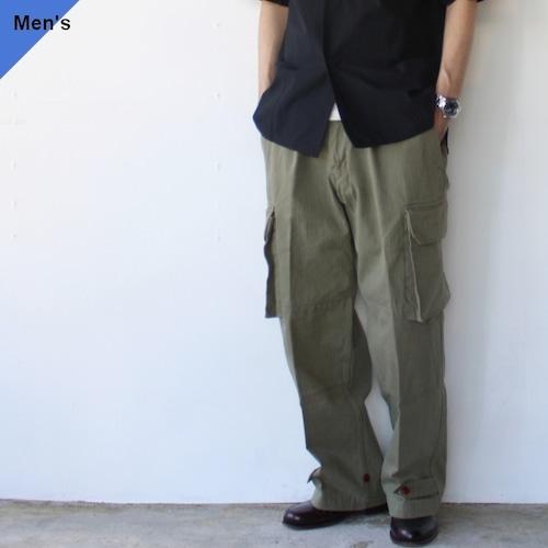 Orgueil オルゲイユ French cargo pants フレンチカーゴパンツM47 KHAKI