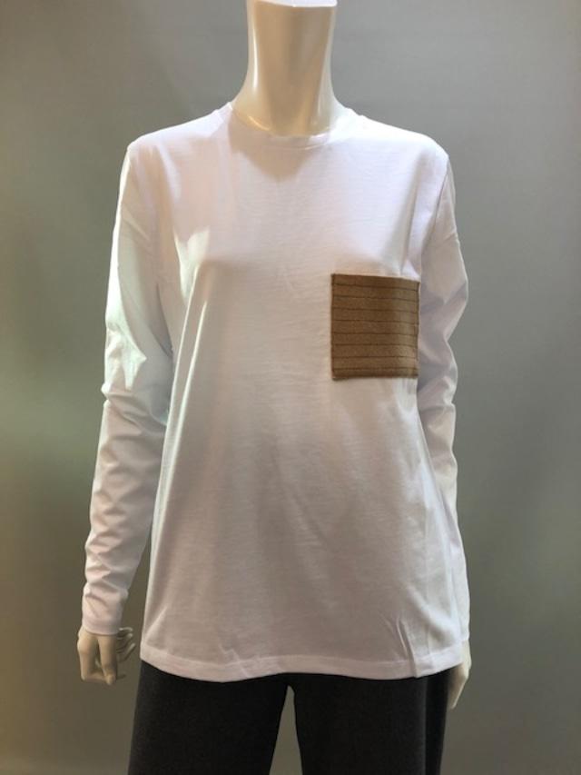 H.A.N.D (ハンド)イタリア製 ロングスリーブTシャツ 35902 0020